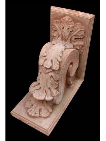 Mensoloni in terracotta