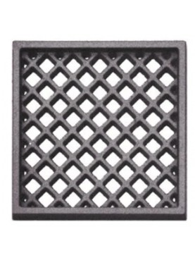 Cast iron ventilation grille 20.2 x 20.2 cm