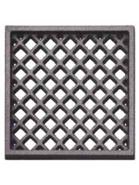 Cast iron ventilation grille 24,9 x 24,9 cm