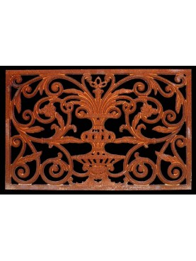 Cast iron doortmat