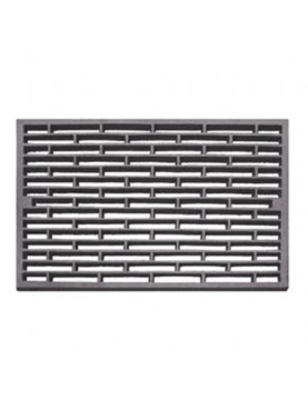 Cast iron ventilation grille 34 x 52,5 cm