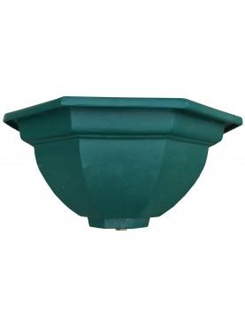 Cast iron green basin