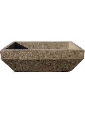 Sink Basin in pietra serena with sloping edges