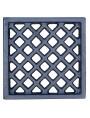 Cast iron ventilation grille 15.5x15.5cm
