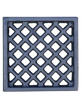 Cast iron ventilation grille 15.5x15.5cm