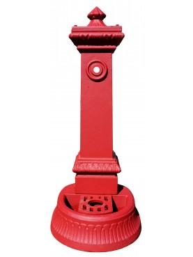 Fontanella Milano piccola rossa H.86cm