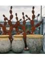 Ficodindia albero grande in ferro battuto