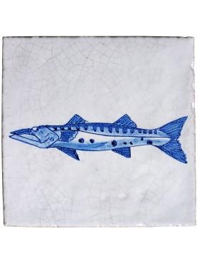 Serie pesci delft barracuda