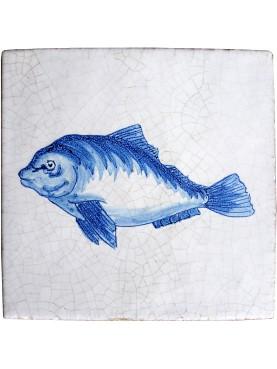 Serie pesci delft castagnola