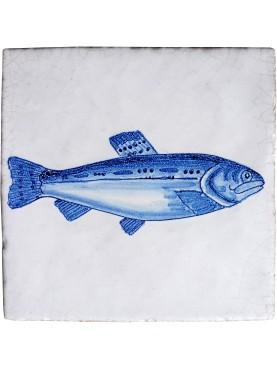 Serie pesci delft trota