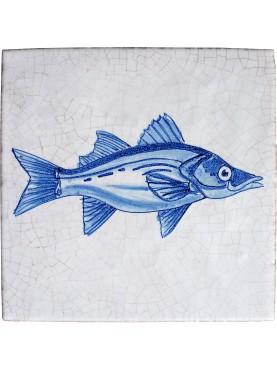Serie pesci delft merluzzo