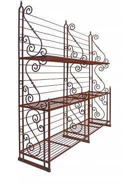 Iron etagere - seen from the left side