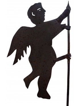ancient angel weathervane