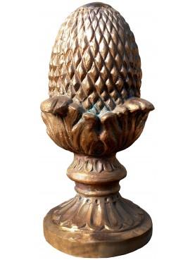Bronze Pine-cone H.35cms