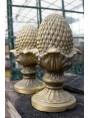 Pine-cone H.35cms terracotta