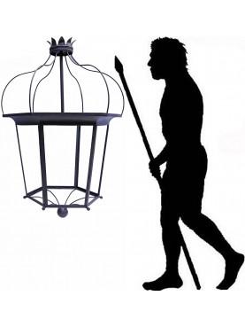 Garden lantern height 120 cm ancient design Tuscan reinassance style