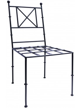 Forged iron TODD chair our production