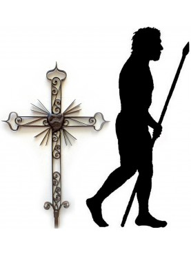 Forged iron CROSS