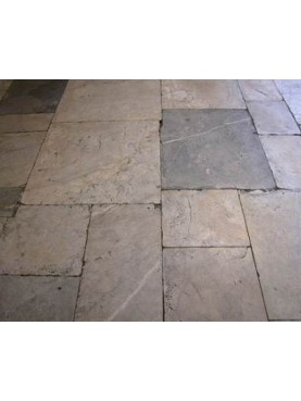 Grey and white marble Floor