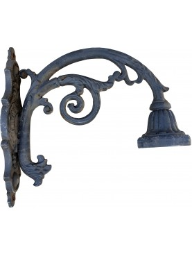 antique lamp posts in the shape of a pastoral