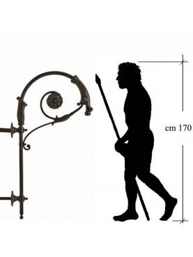 Pastoral lamp post H 160 cm