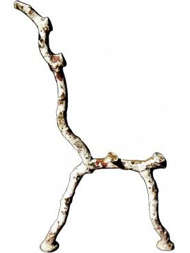 Ancient original cast iron bench legs