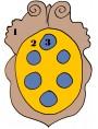 Medici's Coat of arms - maiolica
