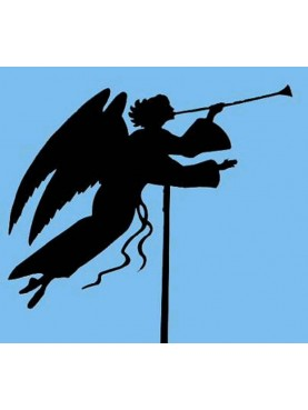 Trumpeter angel