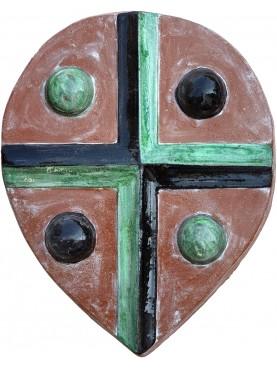 Copia di antico stemma toscano quadripartito