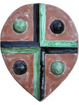 Copy of ancient quadripartite Tuscan coat of arms