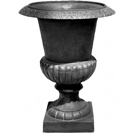 vaso nero non verniciato