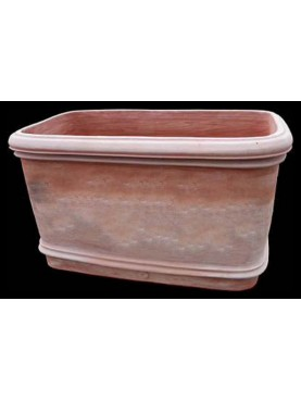 Vasca da bagno in terracotta