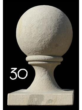 Sfera con base MONOBLOCCO diametro 30 cm
