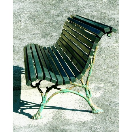from Villa Siemens - Cast iron and wood slatted benches
