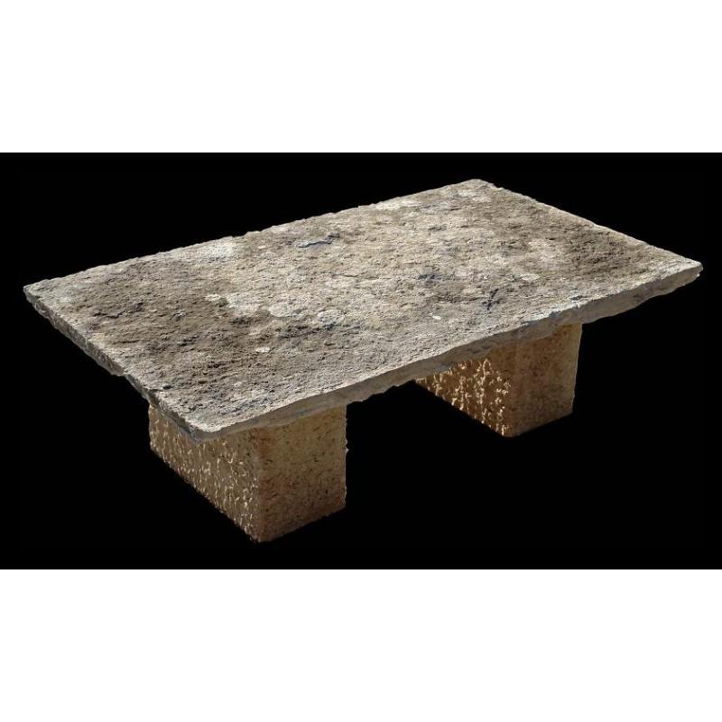 Tavolo Da Giardino In Pietra Recuperando