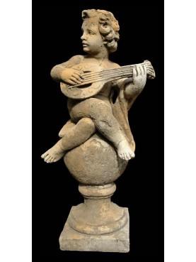 Putto on the mandola