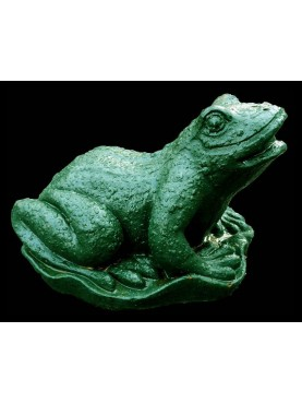 Cast iron Toad