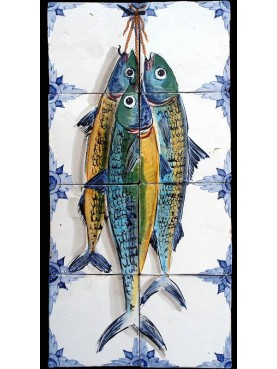 Three Mackerels panel