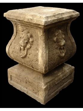 Supporto in cemento - base per vasi e statue