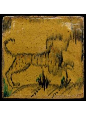 Ocra Tile dog