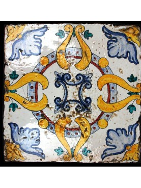 Great majolica tile
