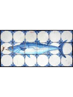 Pannello con grande pesce