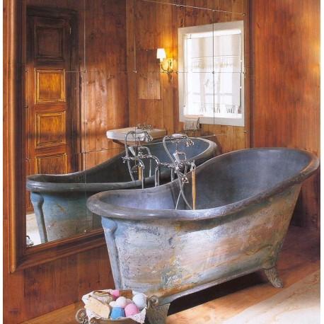Vasca da bagno in zinco