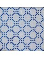 Ancient majolica tile - Gerbino manufacture - Sicily