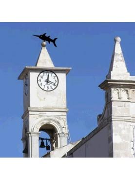 Pescespada sul campanile