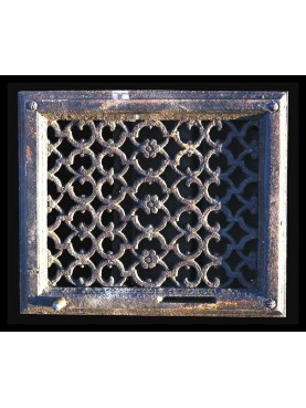 Ventilation grille for cookers