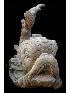 Fontana con Delfini cinquecenteschi