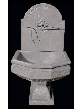 Pietra serena stone fountain