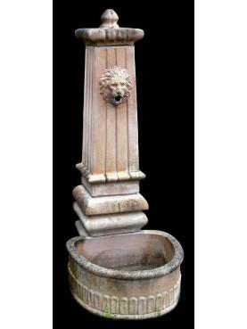 Terracotta fountain