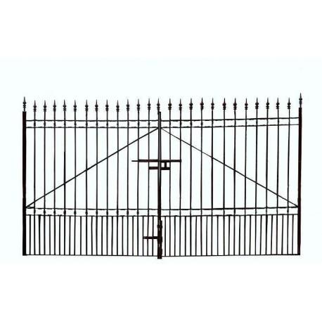 Cancello in ferro di 4,10 m.